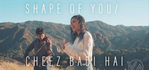 Shape Of You And Cheez Badi Hai Lyrics Vidya Vox Mashup Cover Vidya Vox Vox Music Vox