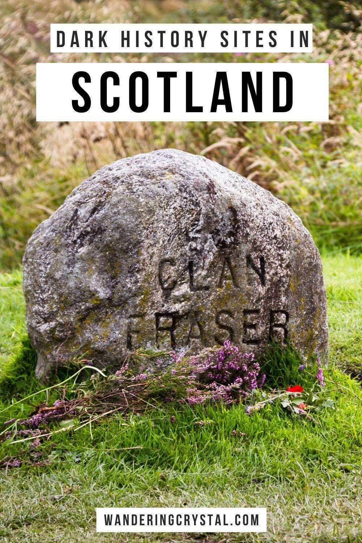 Dark History Sites in Scotland #travelscotland