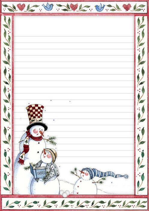 papiers a lettres, papers | Lettre de noel, Papier à ...