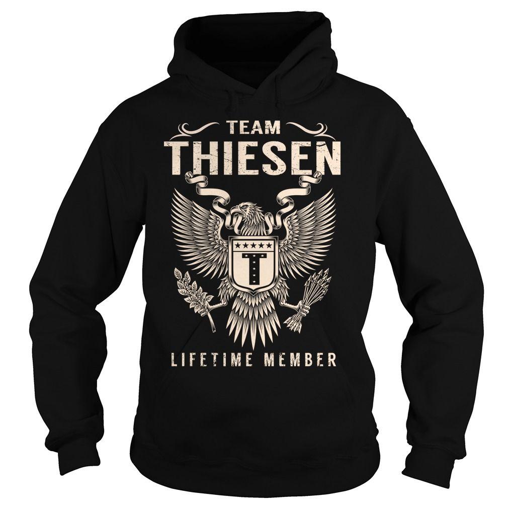 Team THIESEN Lifetime Member - Last Name, Surname T-Shirt