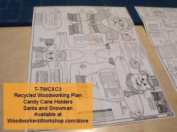 R Twcxc3 Candy Cane Holders Vintage Woodworking Plan