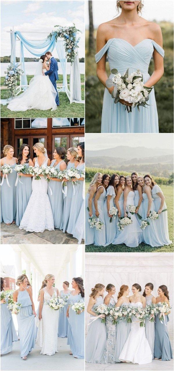 20 Light Blue Wedding Color Ideas for Spring 2020
