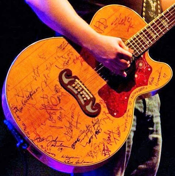 Jamey Johnson S Guitar Johnson Guitars Guitar Jamey Johnson