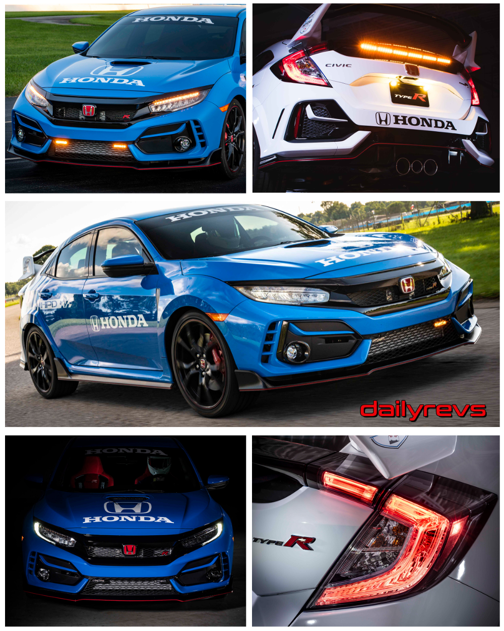 2020 Honda Civic Type R Pace Car Dailyrevs in 2020