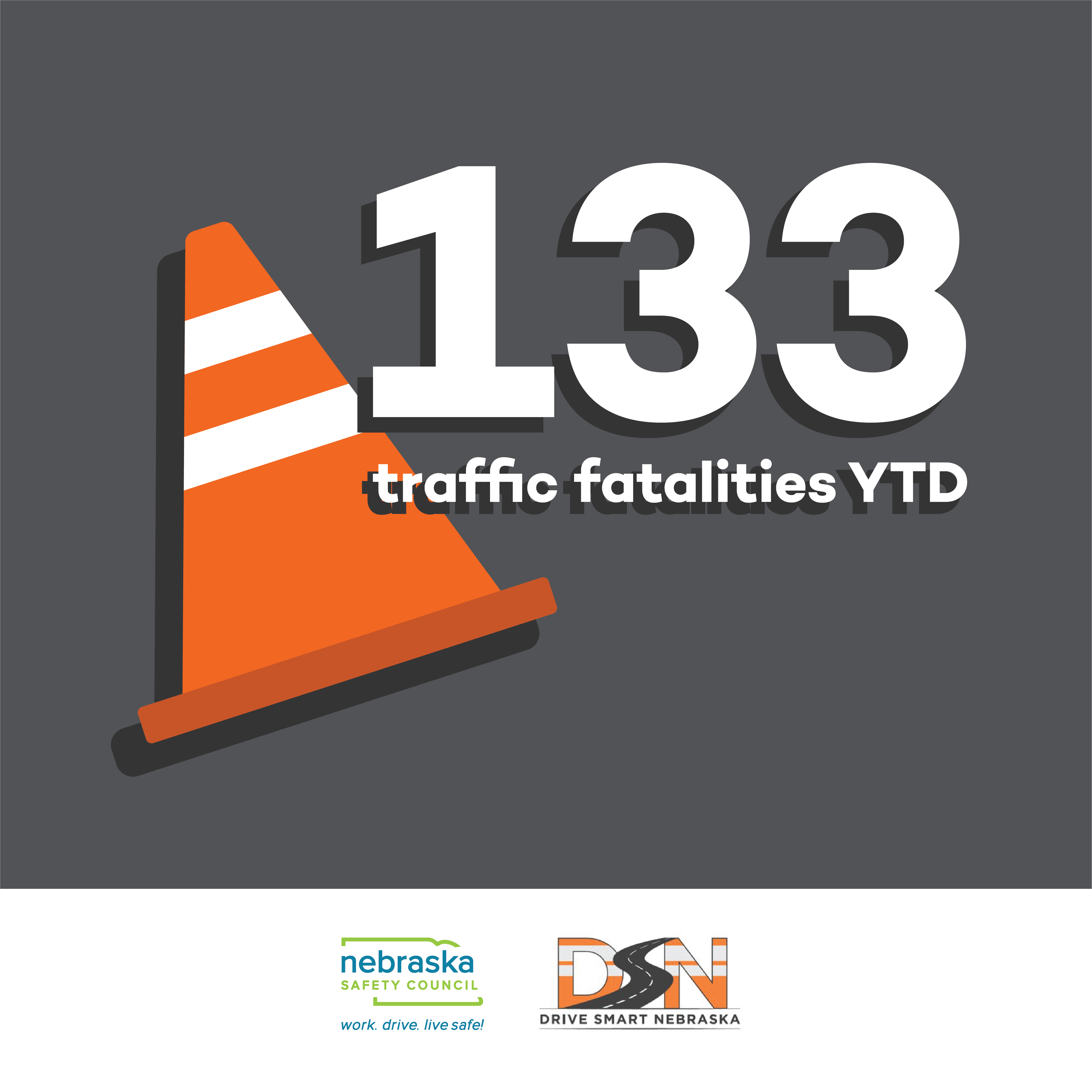 Road fatalities Nebraska Safety Council Drive Smart