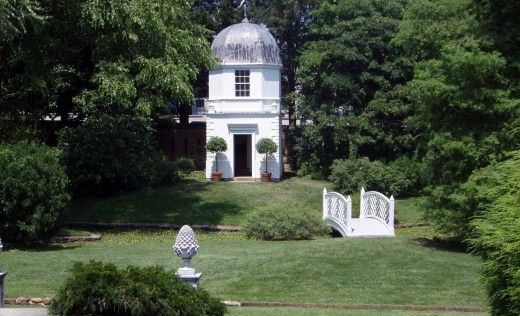 The William Paca House Garden Annapolis Md Potential Locations