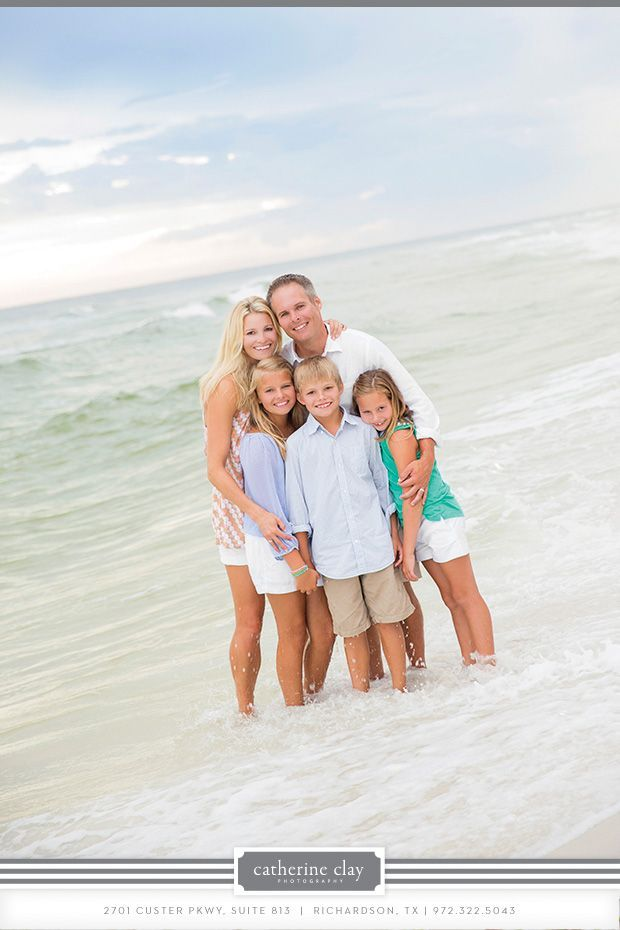Family Portrait Ideas Beach