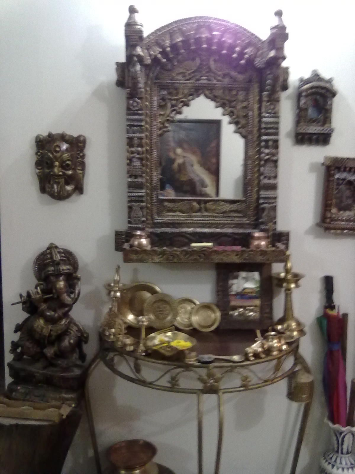 Jharokha wall Mirror Mirror on the Wall Indian home