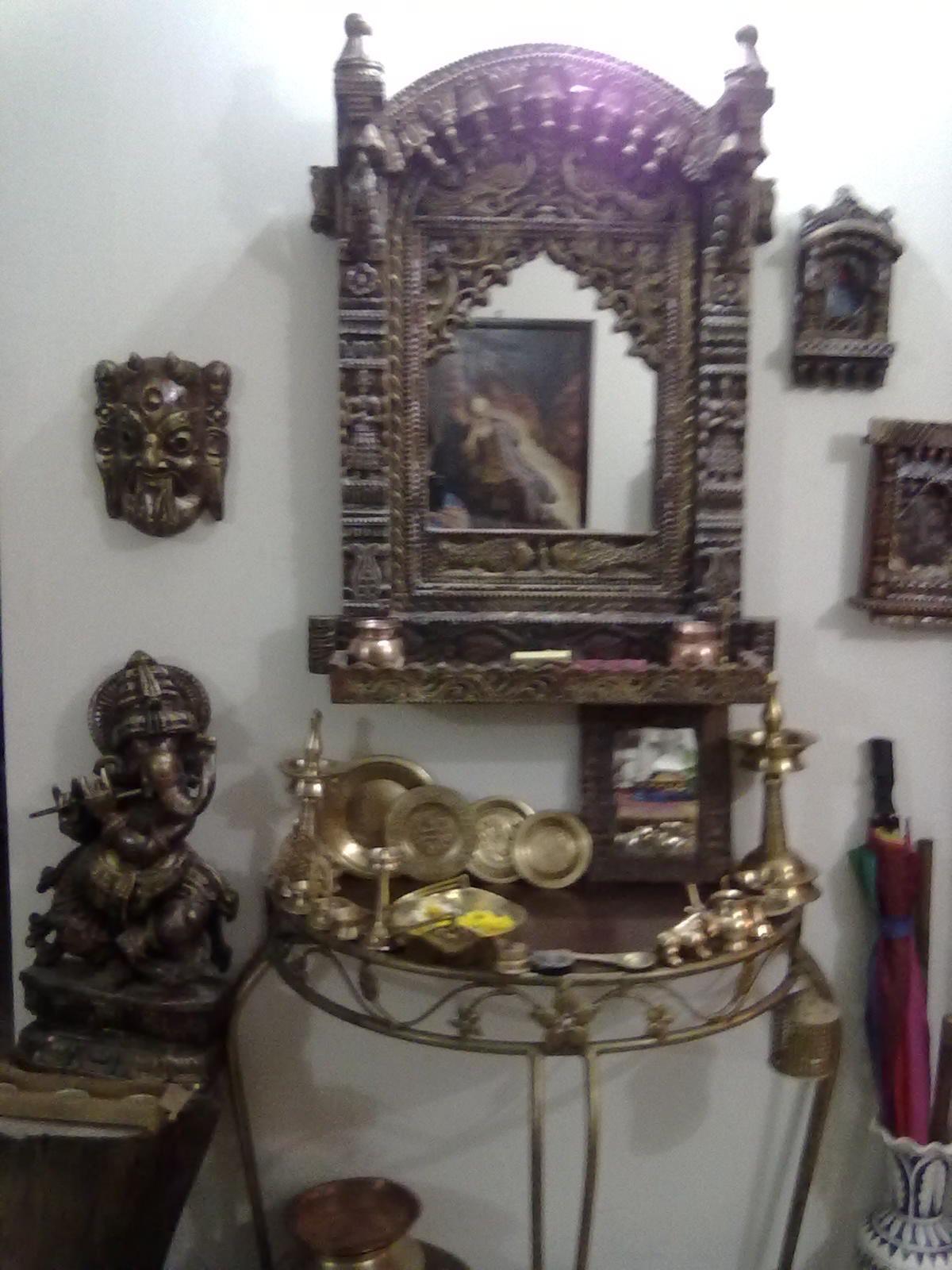 Jharokha Wall Indian Decor Indian Home Decor Pooja Rooms
