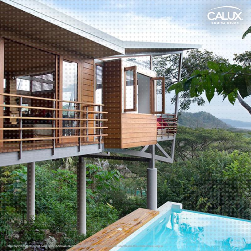 ¿Te gusta este proyecto desarrollado por el arquitecto Benjamin Garcia Saxe Architecture en la jungla de Costa Rica?