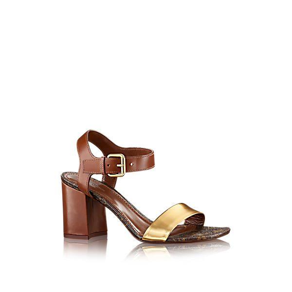 d92abbffae7 LOUIS VUITTON Golden Bloom Sandal.  louisvuitton  shoes