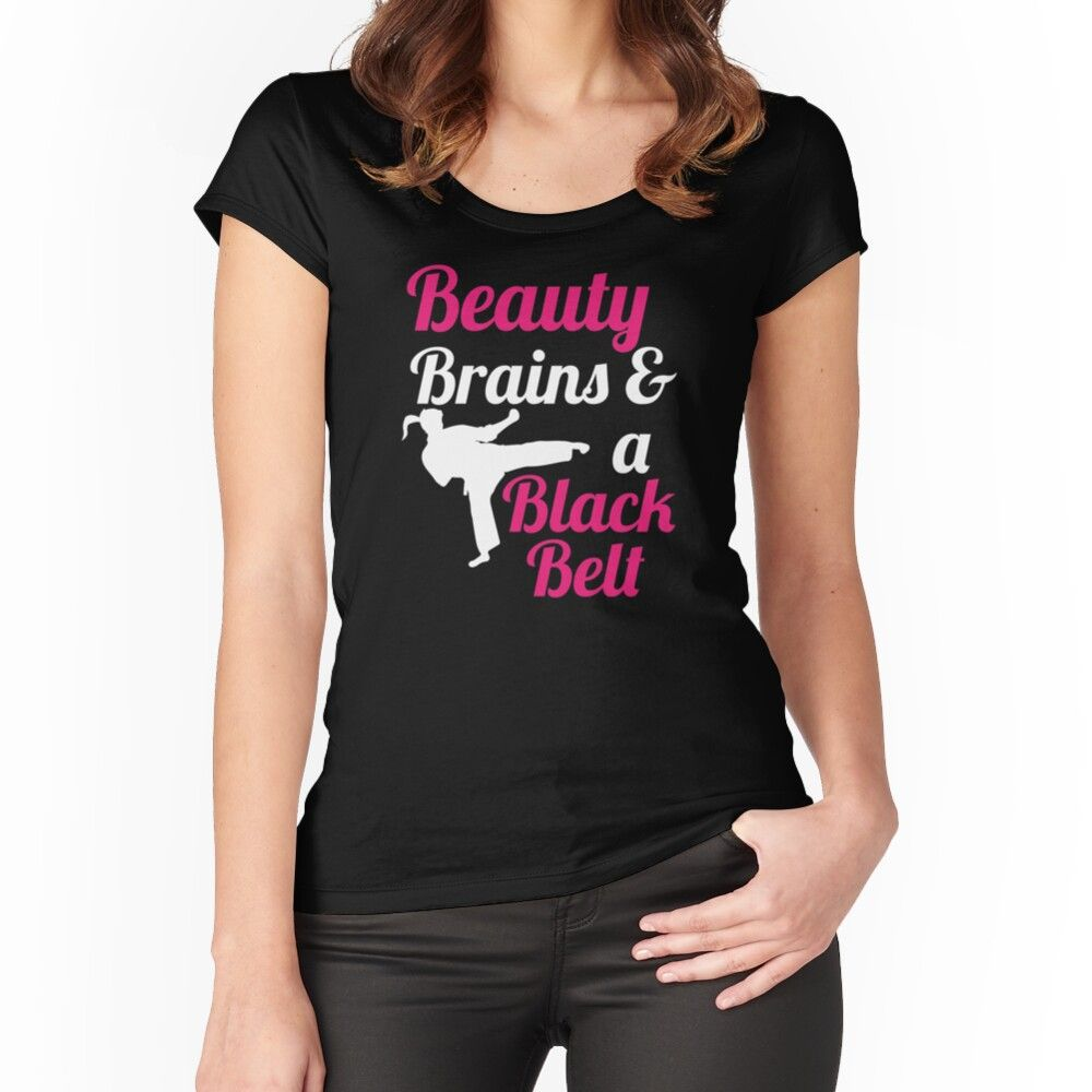Beauty Brains And Black Belt Sweatshirt Karate Sweatshirt