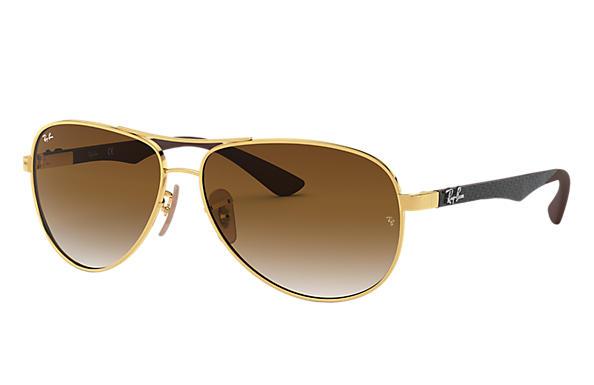 Ray Ban Rb8313 Noir Fibre De Carbon Gris Verres Polarises 0rb8313002 K761 Ray Ban France Ray Ban Sunglasses Ray Bans Sunglasses