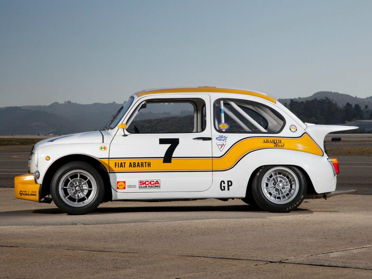 1970 Fiat Abarth 1000 Tcr Gruppo 2 Pic2 Abarth Rare
