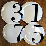 Christopher Jagmin - Odd Number Dinner Plates