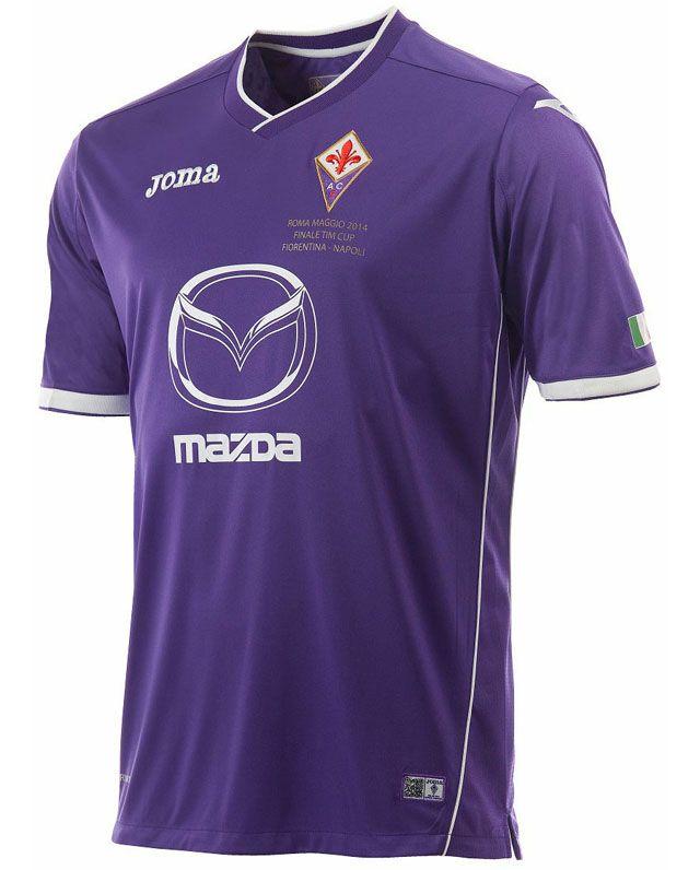 91ce73b0d5a60 Camisa da Fiorentina para a Final da Copa da Itália 2014 Joma ...