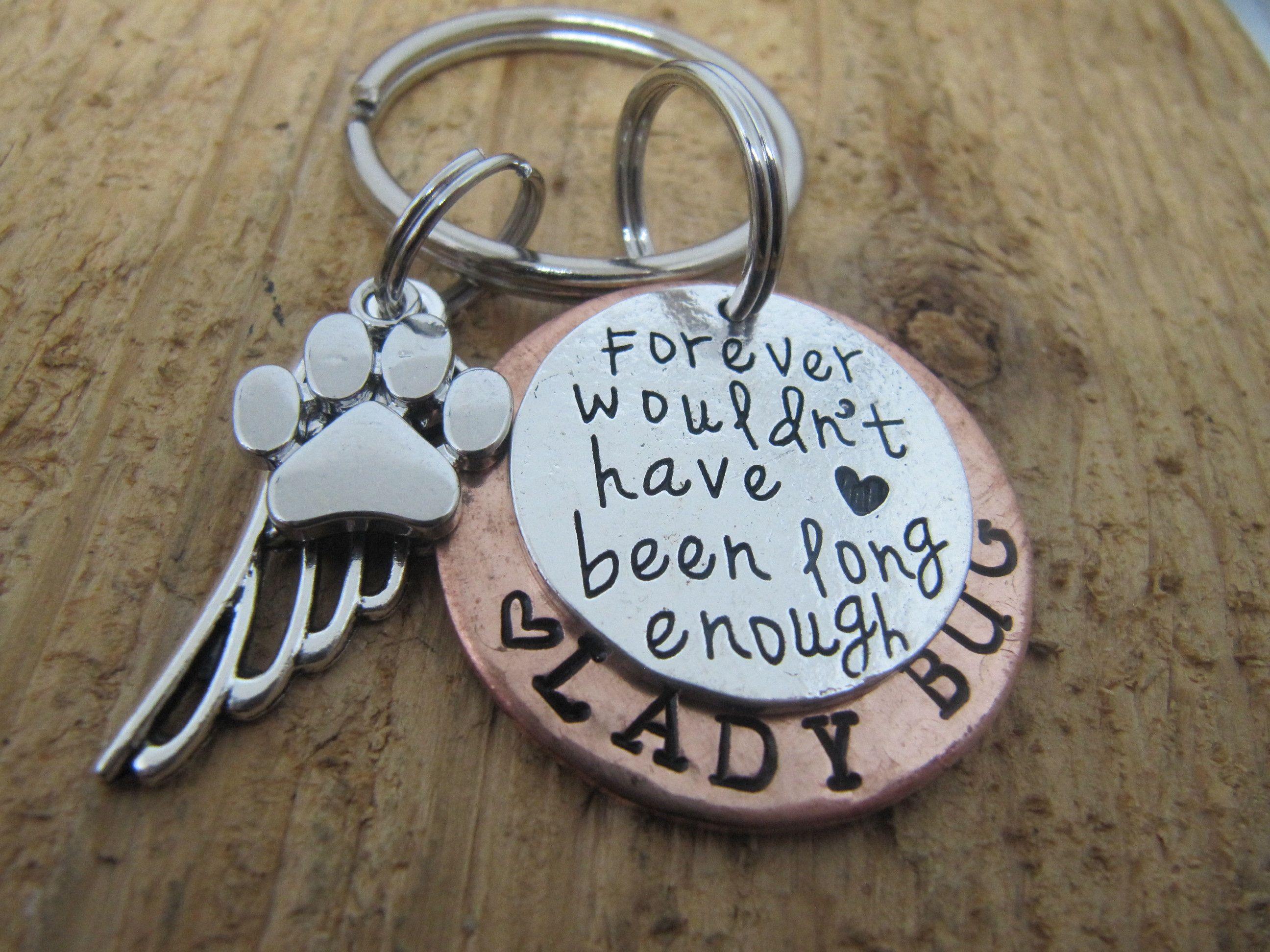 Dog memorial cat memorial pet memorial key chain loss