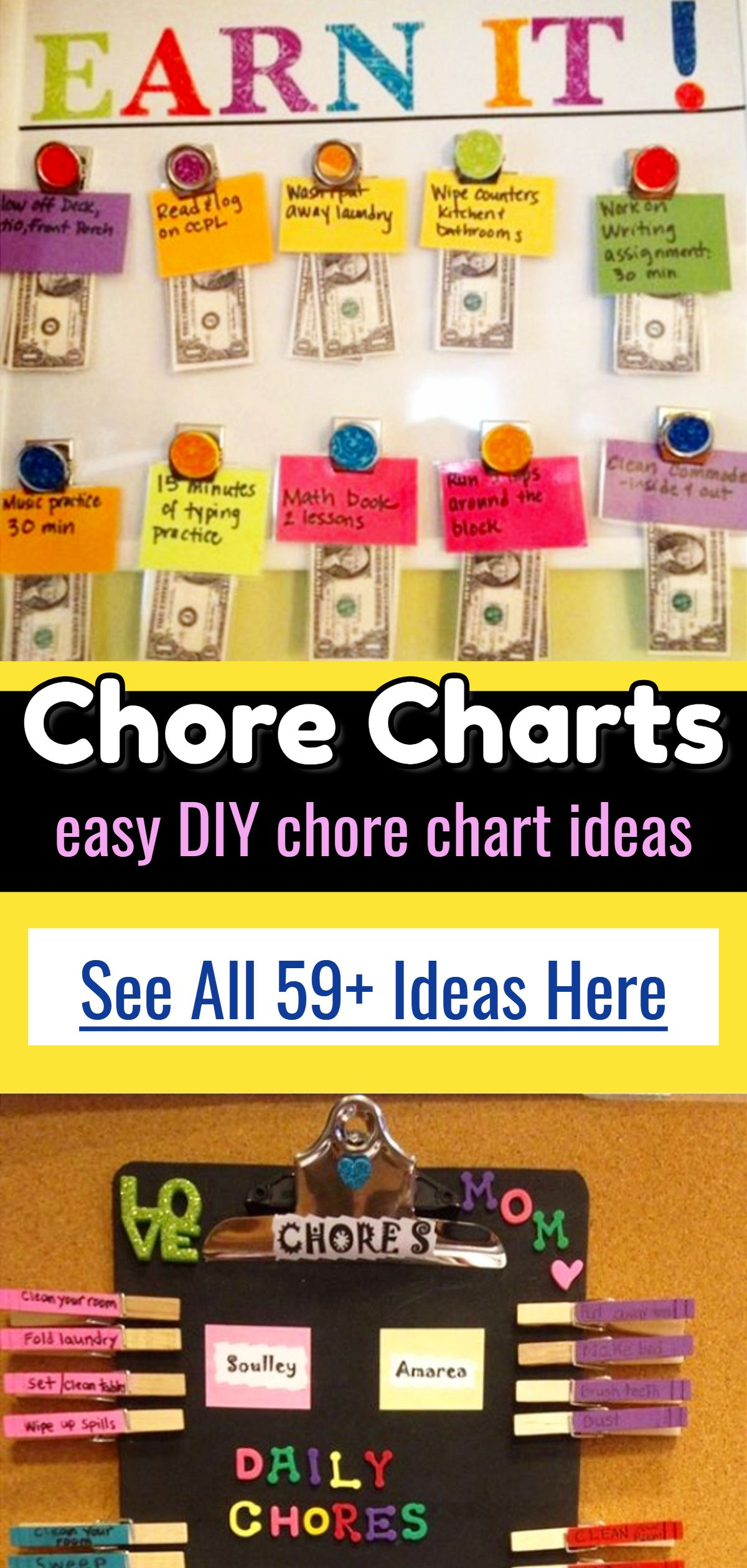 Chore chart ideas charts are  great visual reminder for your child to know that it   time this helps kids get in routine whether also multiple diy boards rh pinterest