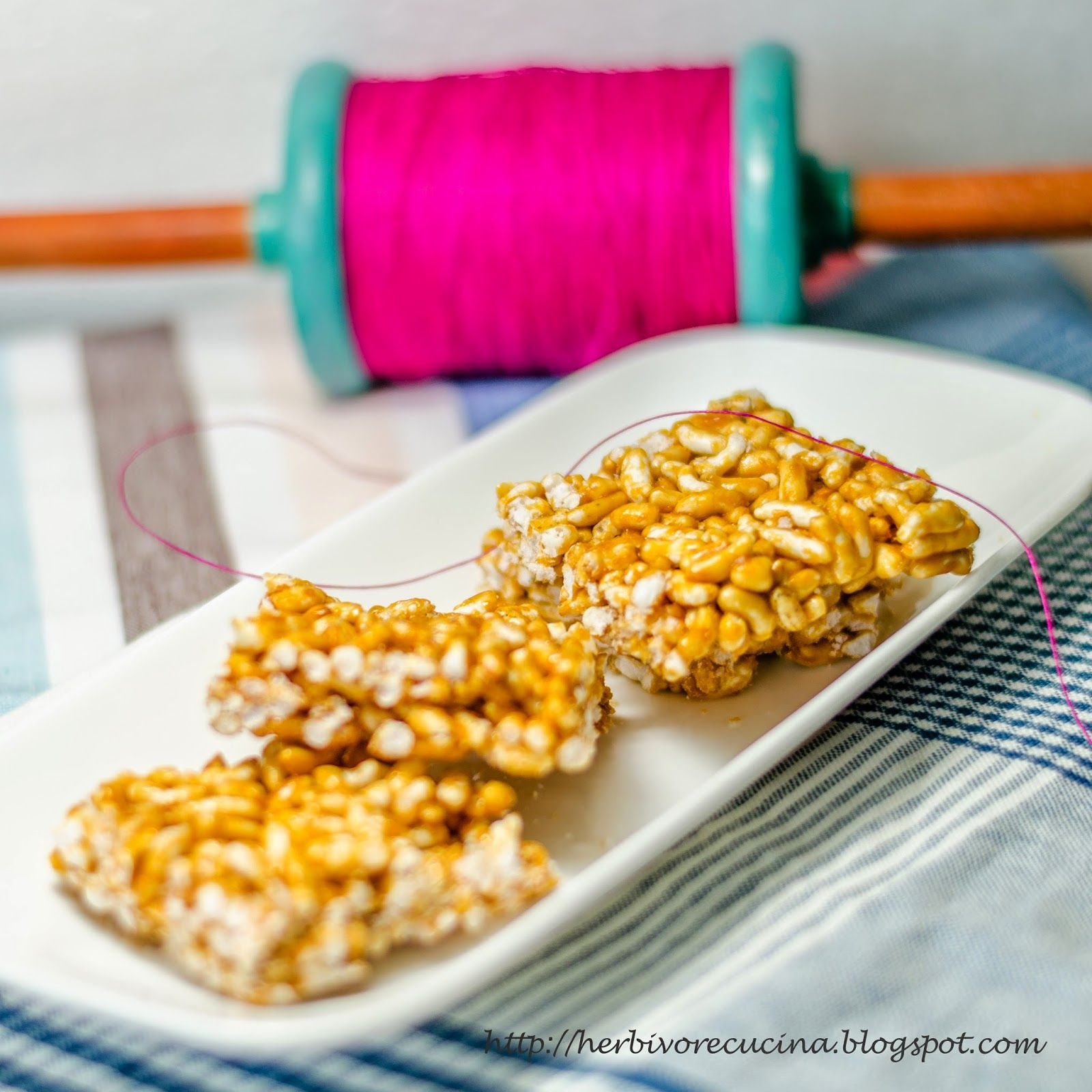 Kite flying in Sankrant is enjoyed best with these Mamra Chikki | Puffed Rice Brittle