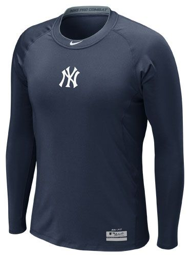 3c691d07e1c66 New York Yankees AC Pro Combat Core 1.2 Long Sleeve by Nike (3.26.12 ...