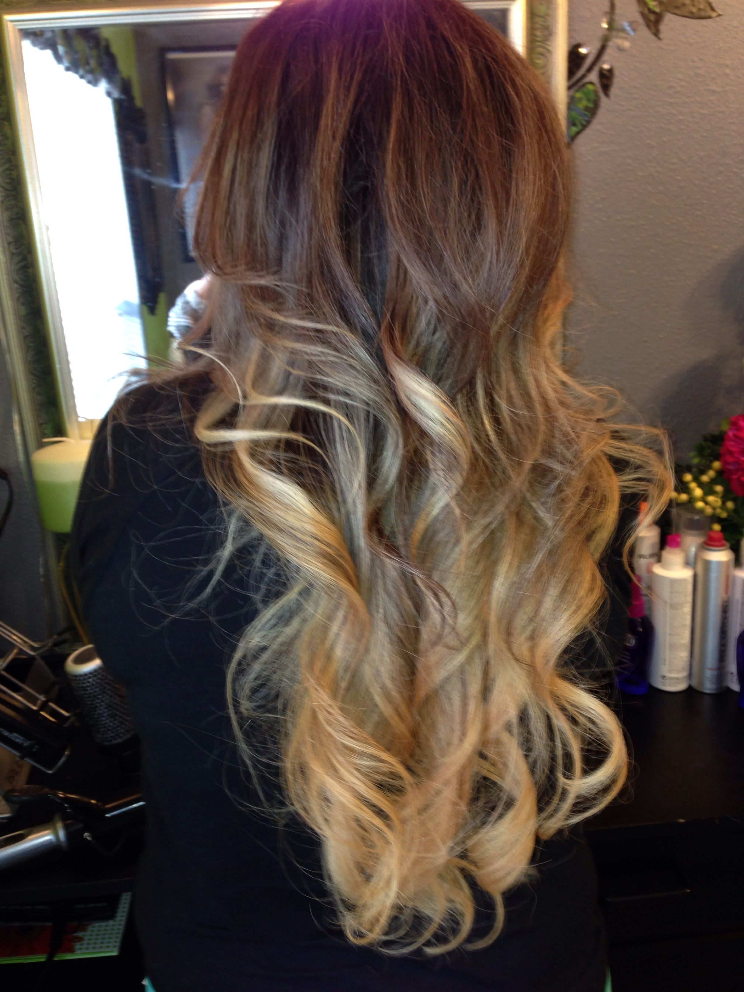 Pin By Yoceida Martinez On Hair Hair Beauty Dip Dye Hair Ombre Hair