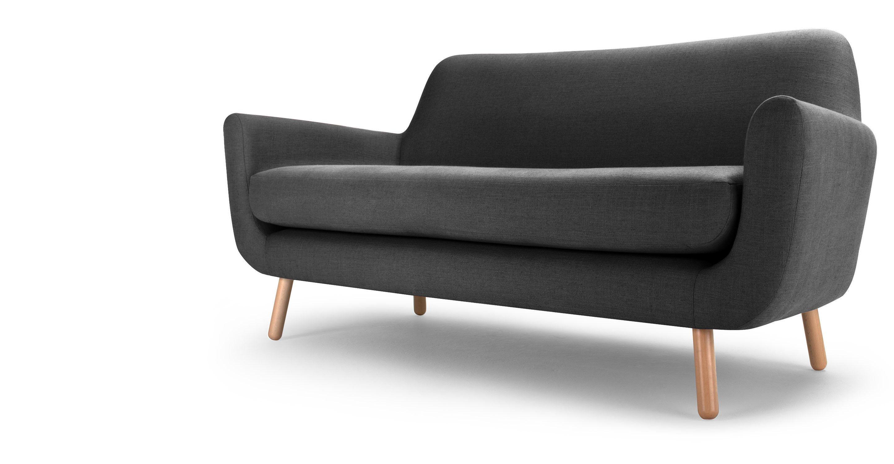 Jonah 2 seater sofa in shire grey jonah 2 seater sofa in shire grey made parisarafo Choice Image