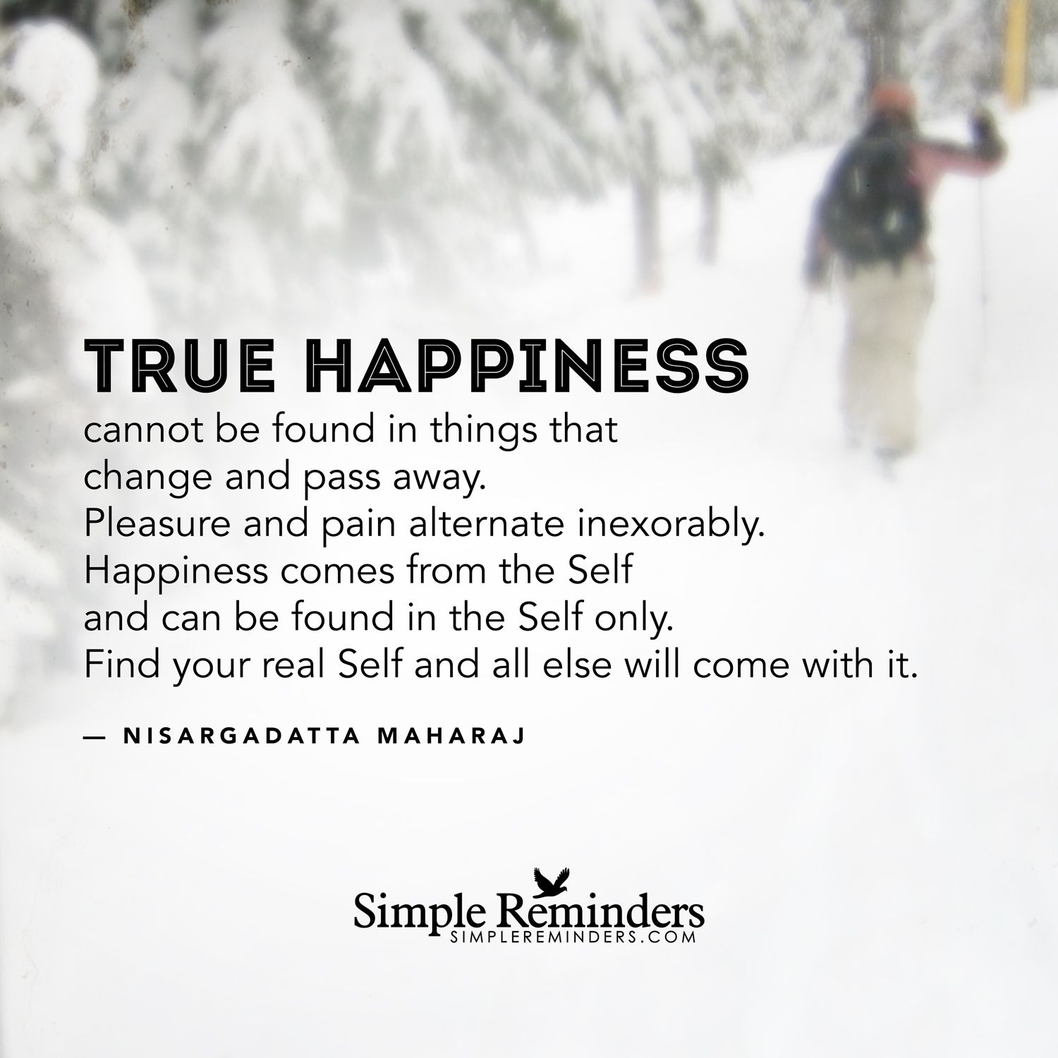 Things that take away happiness