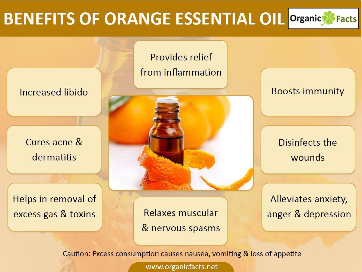 13 Amazing Benefits Of Orange Essential Oil With Images Orange