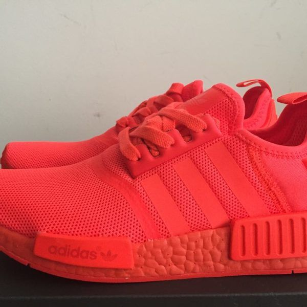 release date f6ffd befb6 Men's Adidas NMD R1 Triple Red S31507 New Arrival   Our New ...