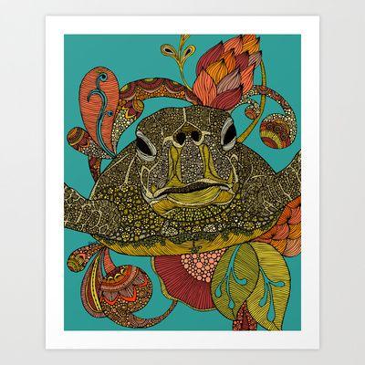 Toitle Art Print by Valentina Harper - $18.00