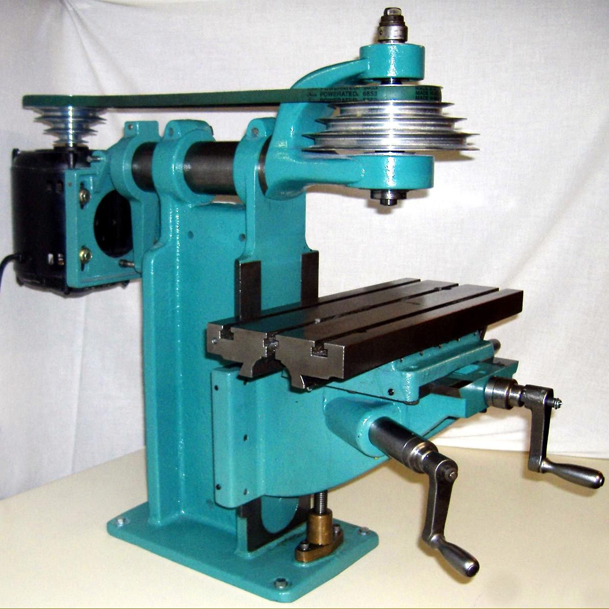Linley Jig Bore Milling Machine Single Phase Table Is 7 Inch X 17