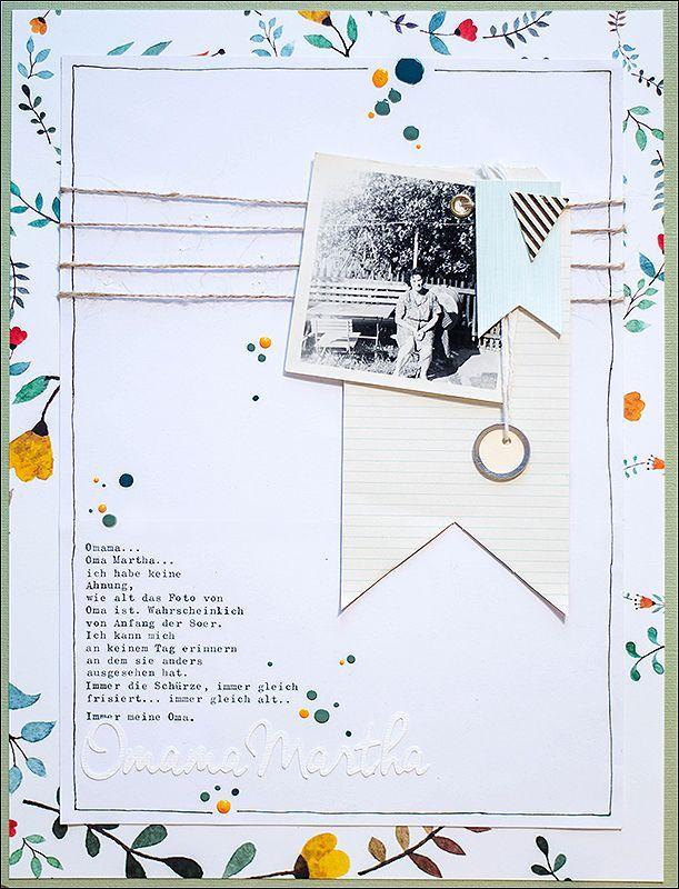 The difficulty .... {Scrapbooking, Scrapbooktreff JumpStart ....} - be more creative #memoriesscrapbook