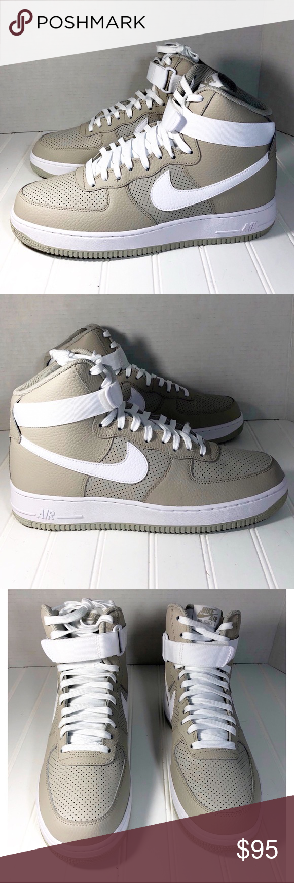 Men s Nike Air Force 1 High 315121-039 Size 10.5 New with box Nike Air  Force 1 High  07 Style ID  315121-039 Brand  Nike Color  Pale Gray White  Size  Men s ... 465e429c20a3