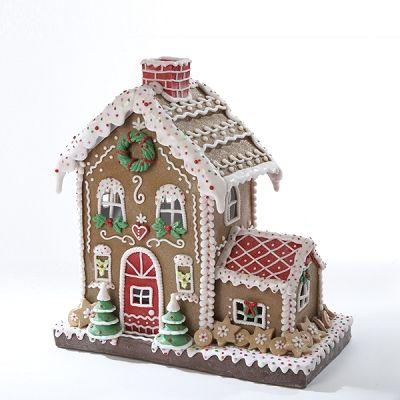 Kurt adler led two story gingerbread house pre order item also linda gregandlindap on pinterest rh