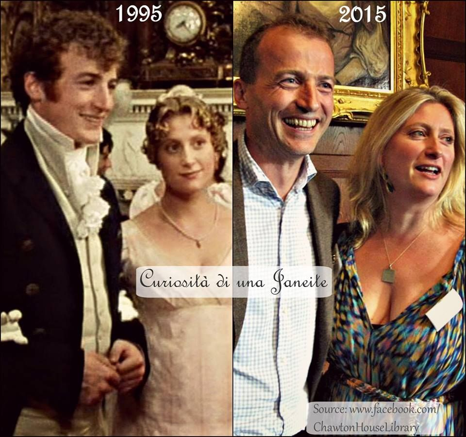 Mr. Bingley and Jane Bennet twenty years later