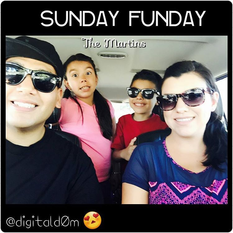 """""""From my family to yours, enjoy Sunday Funday with the people and places you love. Have a wonderful summertime happiness⛅ #summertime #happiness…"""""""