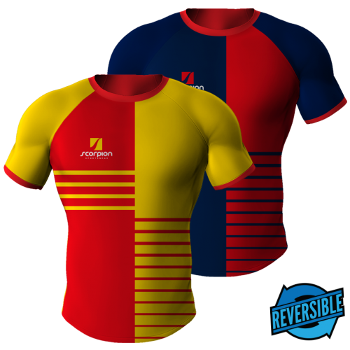 31131e47749a Scorpion Sports Reversible Rugby Shirts are UK manufactured in any colour  or…