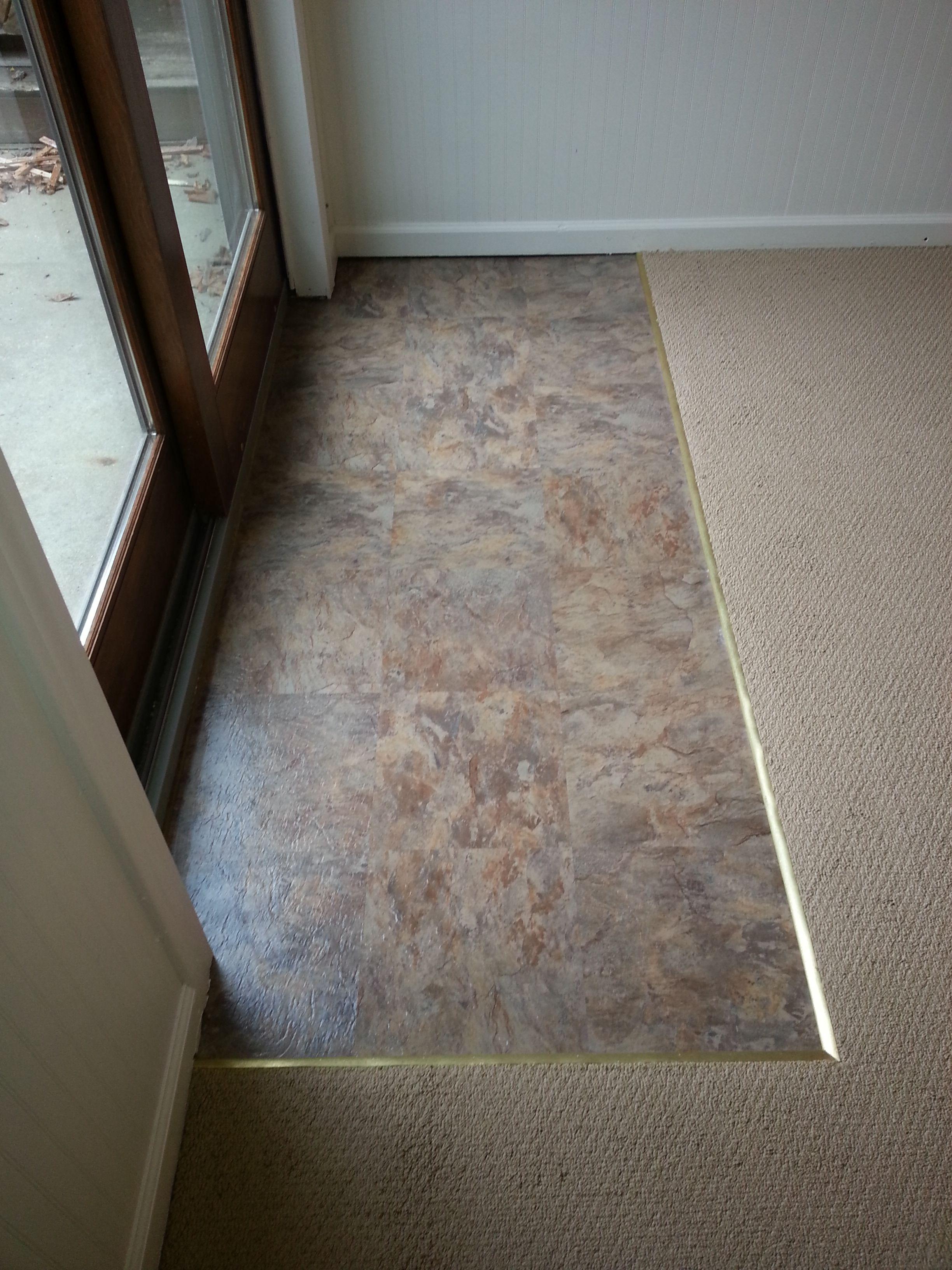 Tile Through Doorway & Standard Door Widths ten Make It Difficult