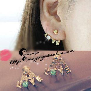Love letters earrings  www.smalltao.com/...