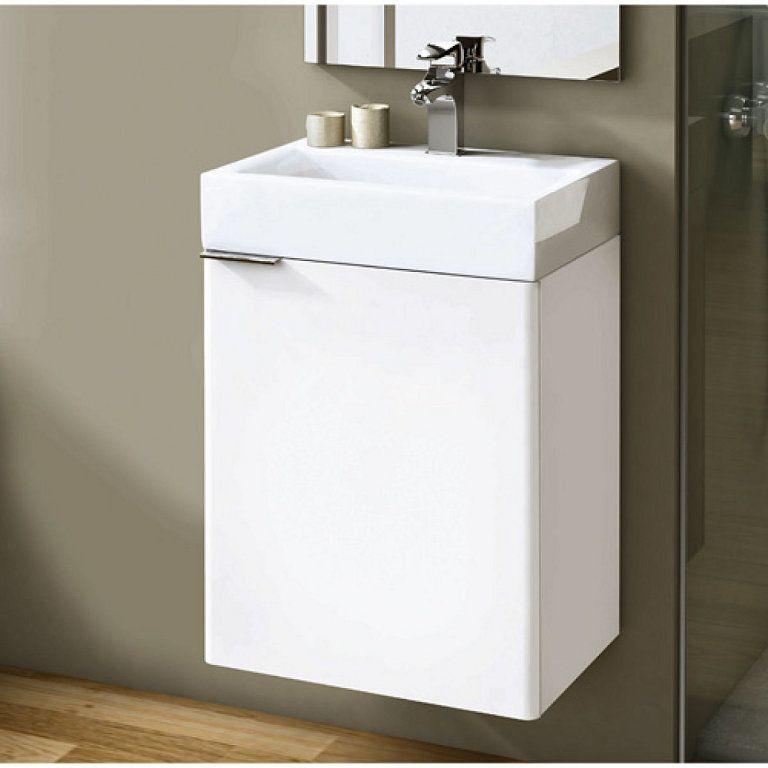 Mobiliario y lavabos para baños pequeños