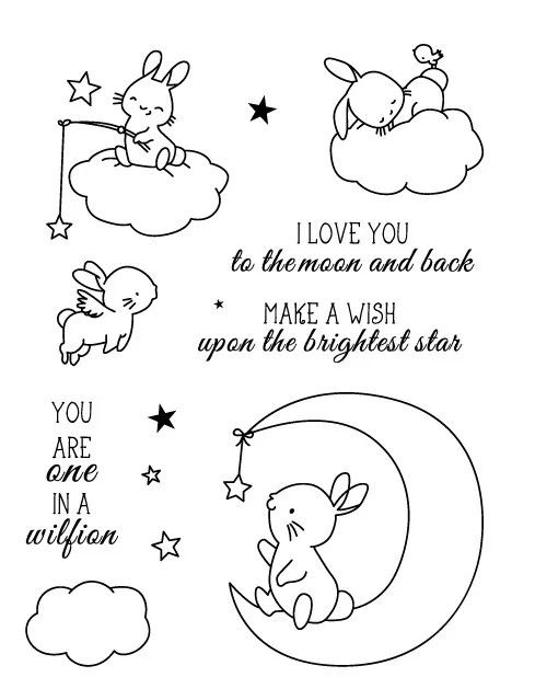Pin By Gina Robles On Aangekomen Card Making Kids Clear Stamps Whimsy Stamps