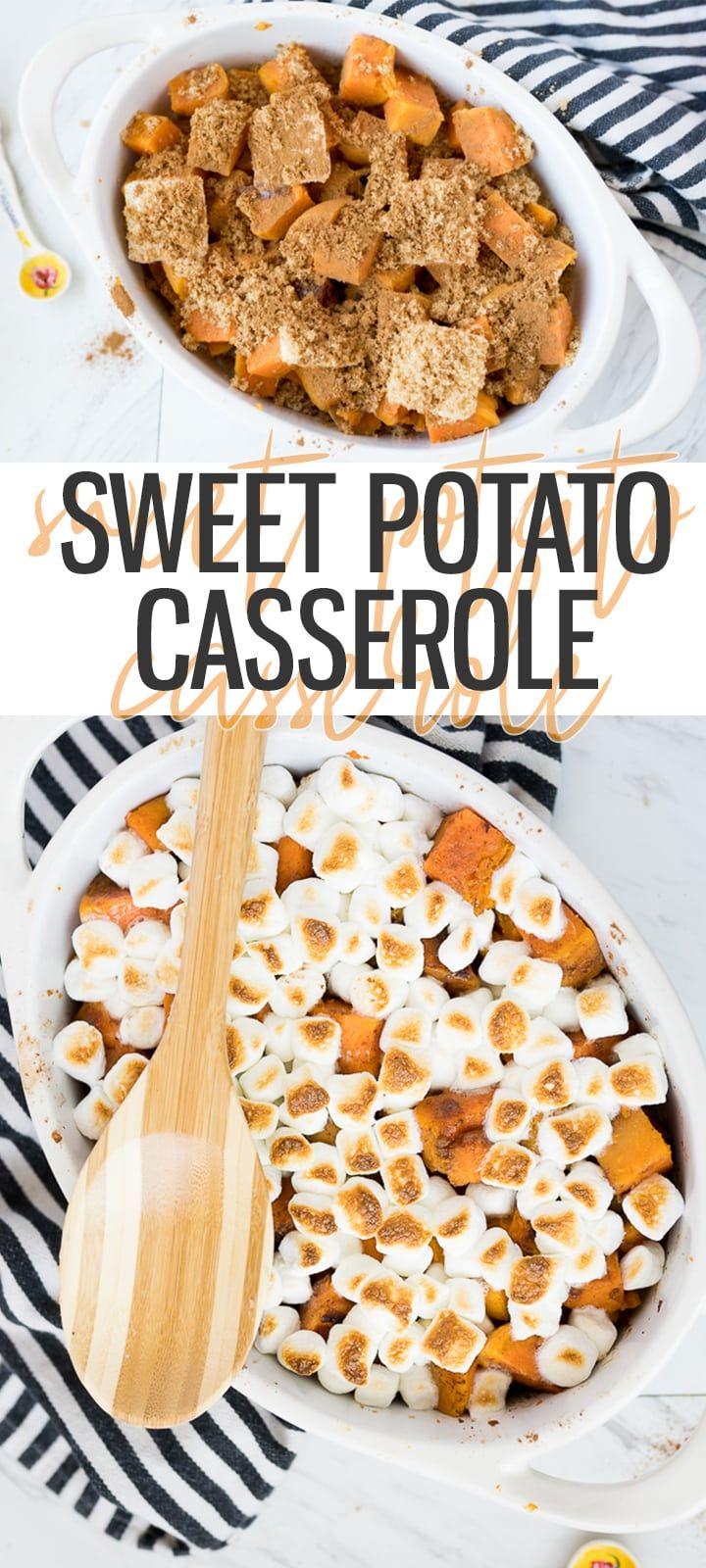 Easy Sweet Potato Casserole - Cooking With Karli #sweetpotatocasserole