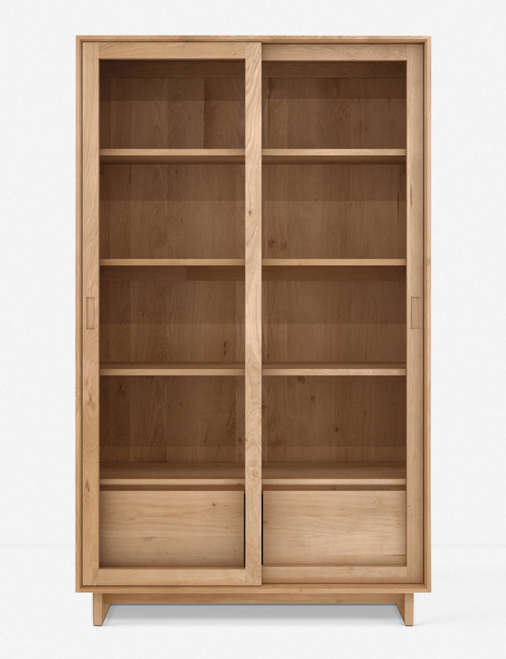 Cutout Details Make The Drawers On This Bookshelf Pop Creating