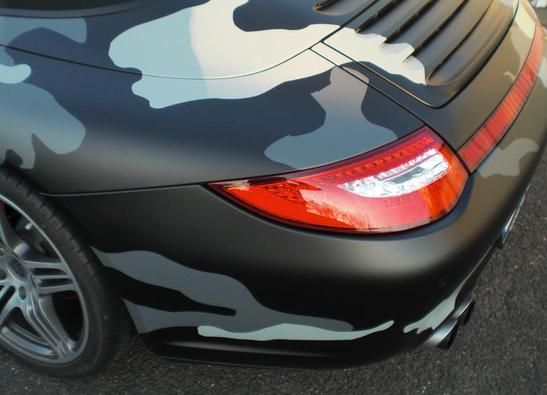 car wrapping camo porsche camouflage pinterest. Black Bedroom Furniture Sets. Home Design Ideas