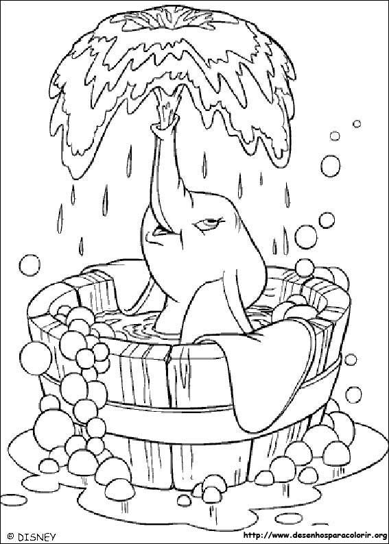 Pin By Annamae Johnson On Coloring Cartoon Characters Elephant Coloring Page Disney Coloring Pages Coloring Books