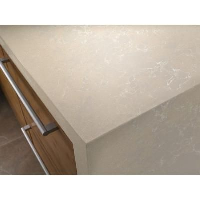 Silestone 2 Inx 4 Inquartz Countertop Sample In Daria Entrancing Home Depot Kitchen Countertops Inspiration