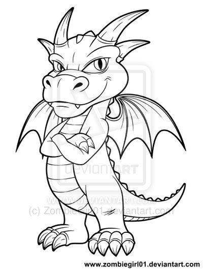 Chibi Dragon Design By Zombiegirl01 On Deviantart Chibi Dragon Dragon Design Chibi