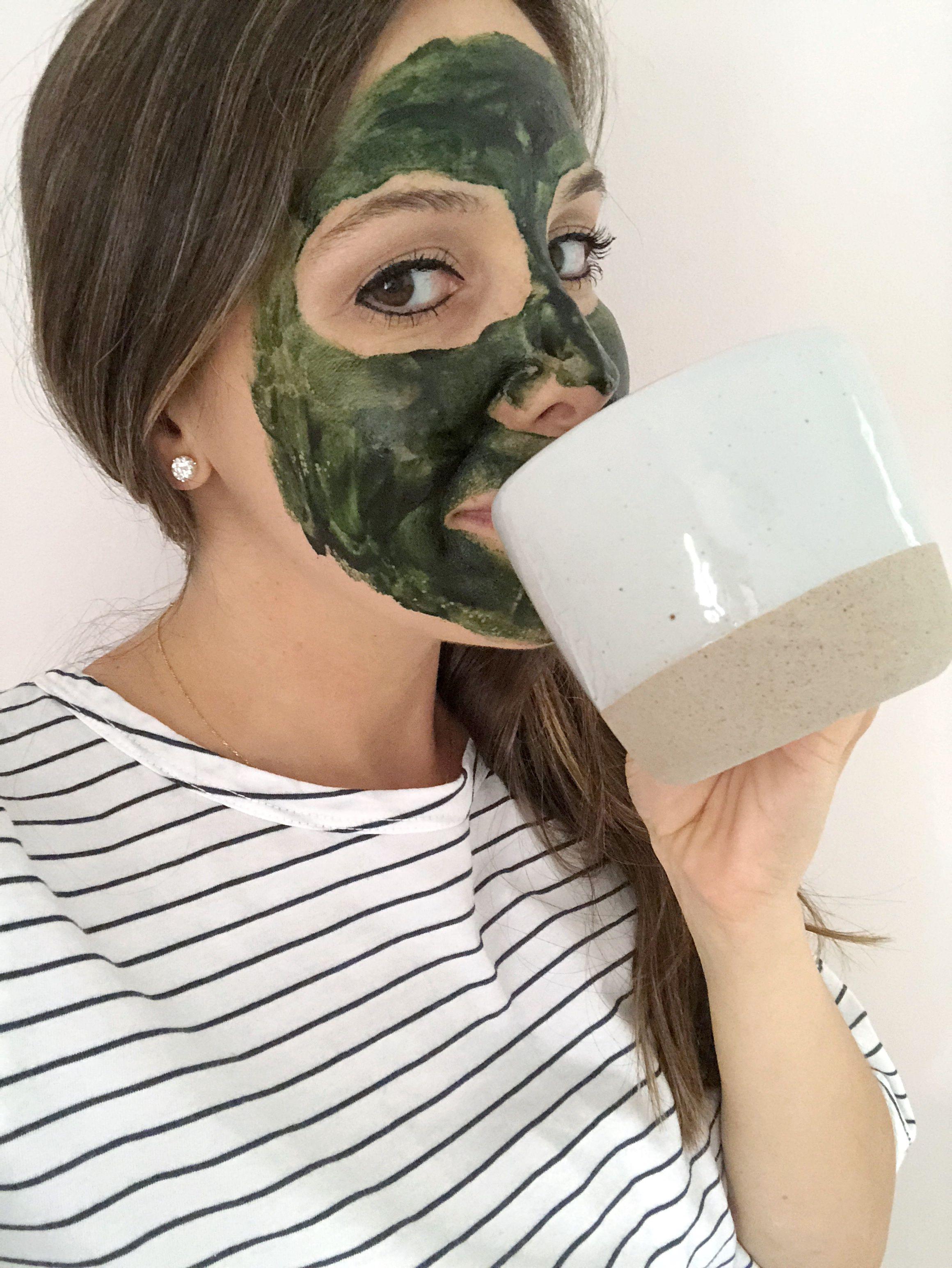 Skin Brightening Probiotic Yogurt Honey Spirulina Face Mask Recipe Skin Brightening Skin Brightening Cream Products Skin Brightening Diy