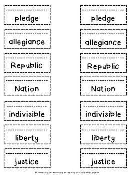 the pledge of allegiance cut and paste social studies pinterest cut and paste the o 39 jays. Black Bedroom Furniture Sets. Home Design Ideas