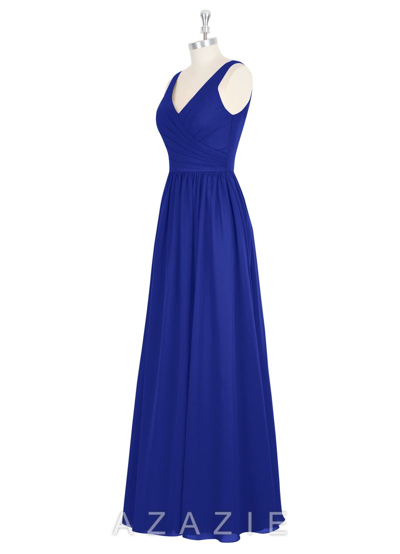 Azazie Bridesmaid Dress Keyla In Chiffon Find The Perfect Made To
